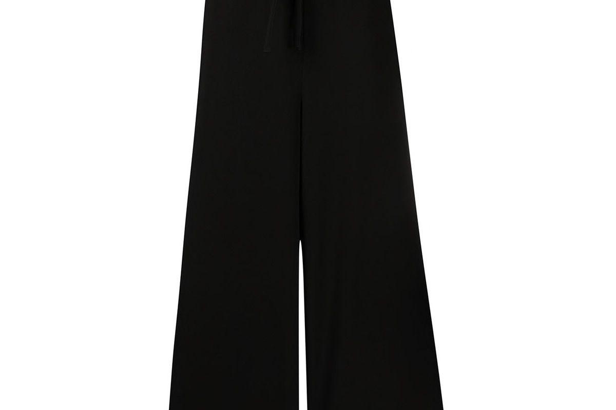 ys chain belt palazzo trousers