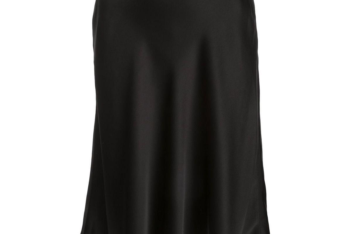 paco rabanne chain detail skirt