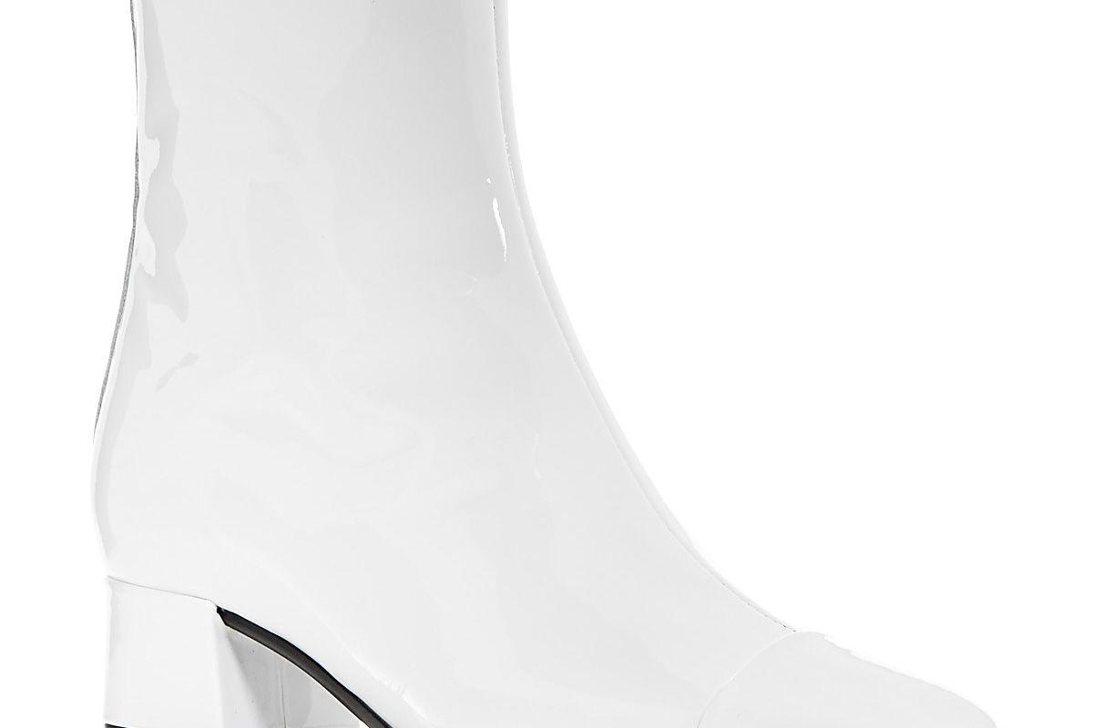 Ankle Boots Estime White Varnish