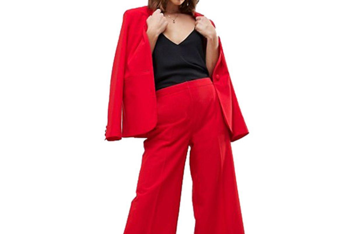 Mix & Match Tailored Clean Culotte