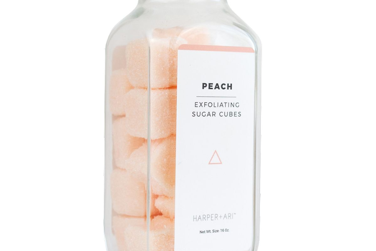 Peach Sugar Cubes
