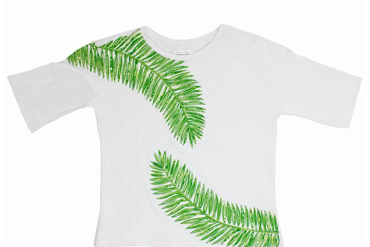 Palm Leaf Top