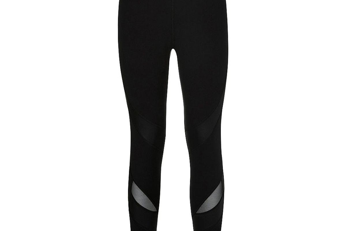 sweaty betty power 7 8 wetlook mesh leggings