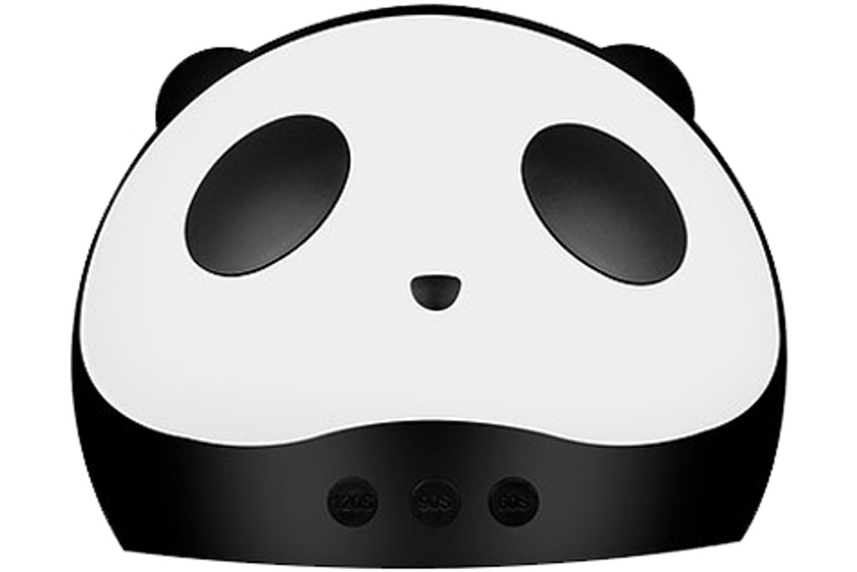 luxe and willow panda uv nail dryer