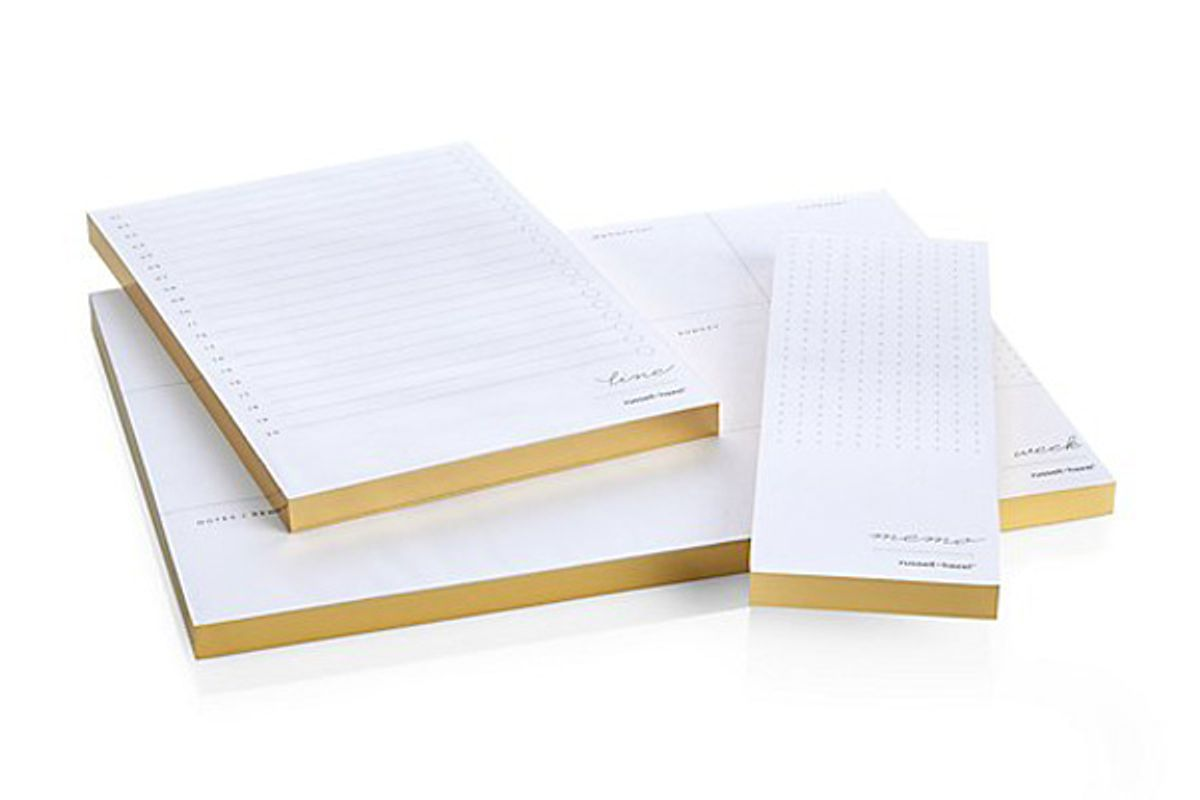 russel and hazel asst of 3 in due time notepads