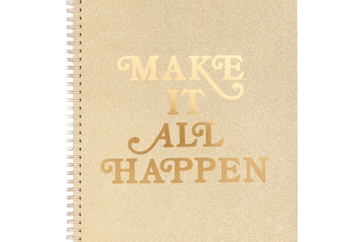 bando rough draft large notebook make it all happen
