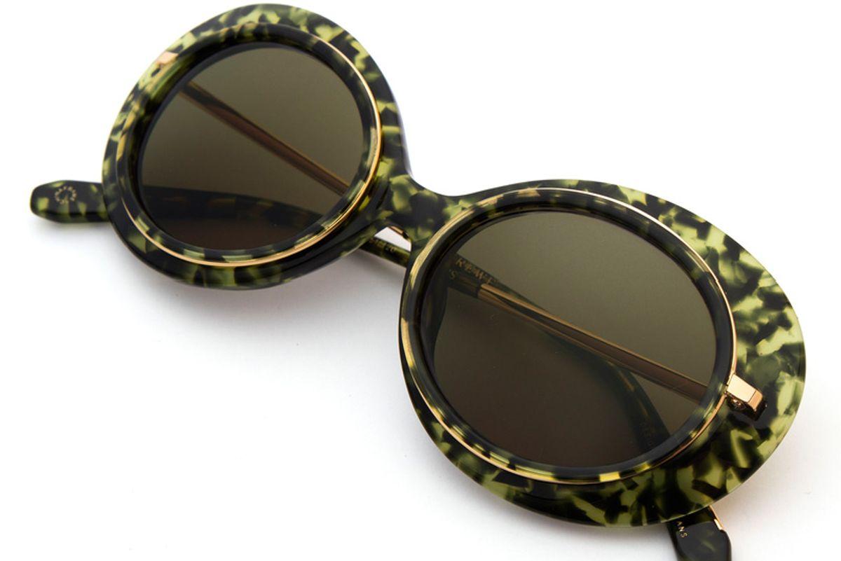 Iris Absinthe 24k Sunglasses