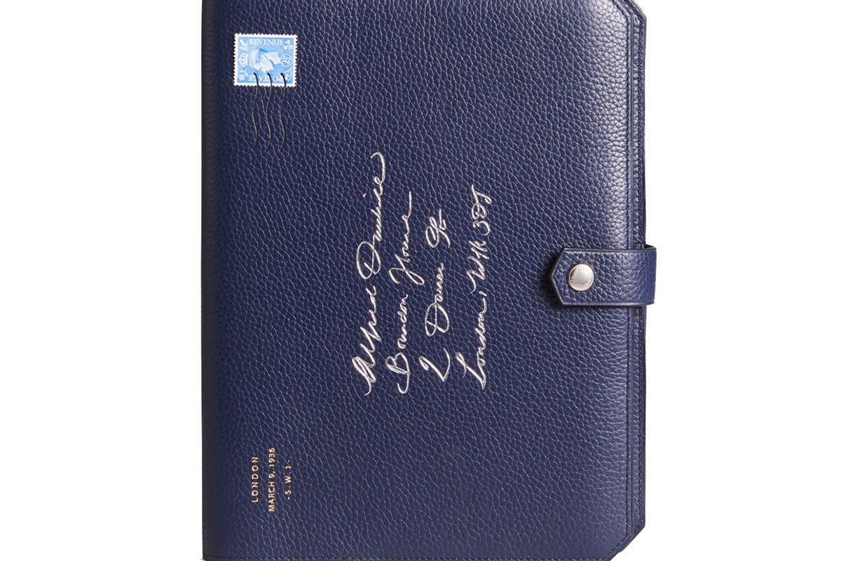 Boston Leather Notebook