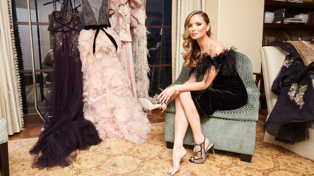 Getting Ready with Marchesa's Co-Founder Georgina Chapman