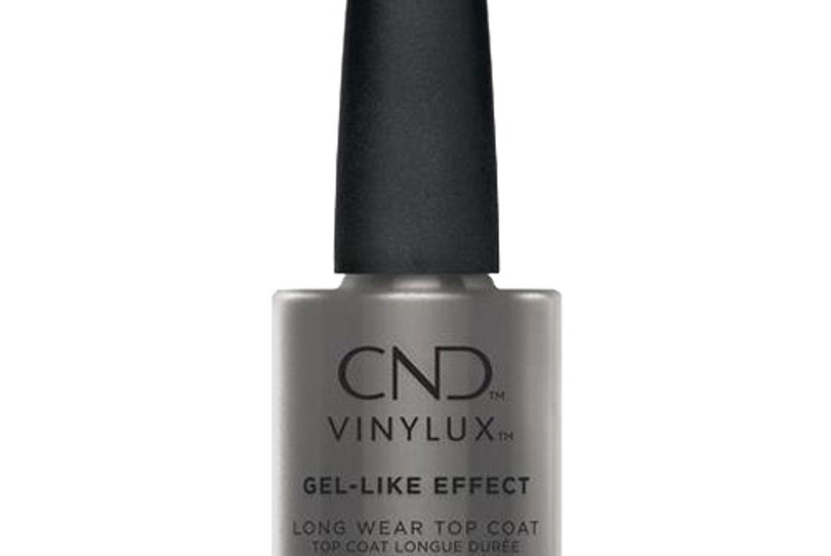 cnd gel like effect long wear top coat