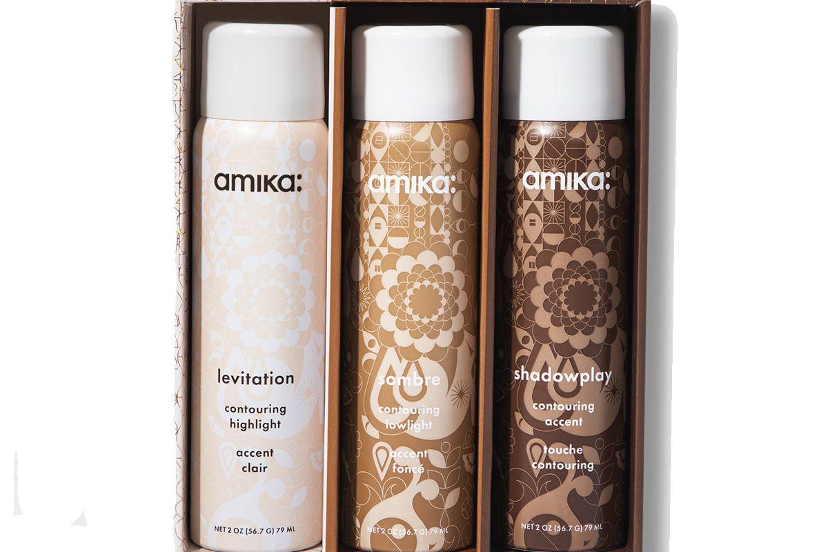amika strobe hair contour kit
