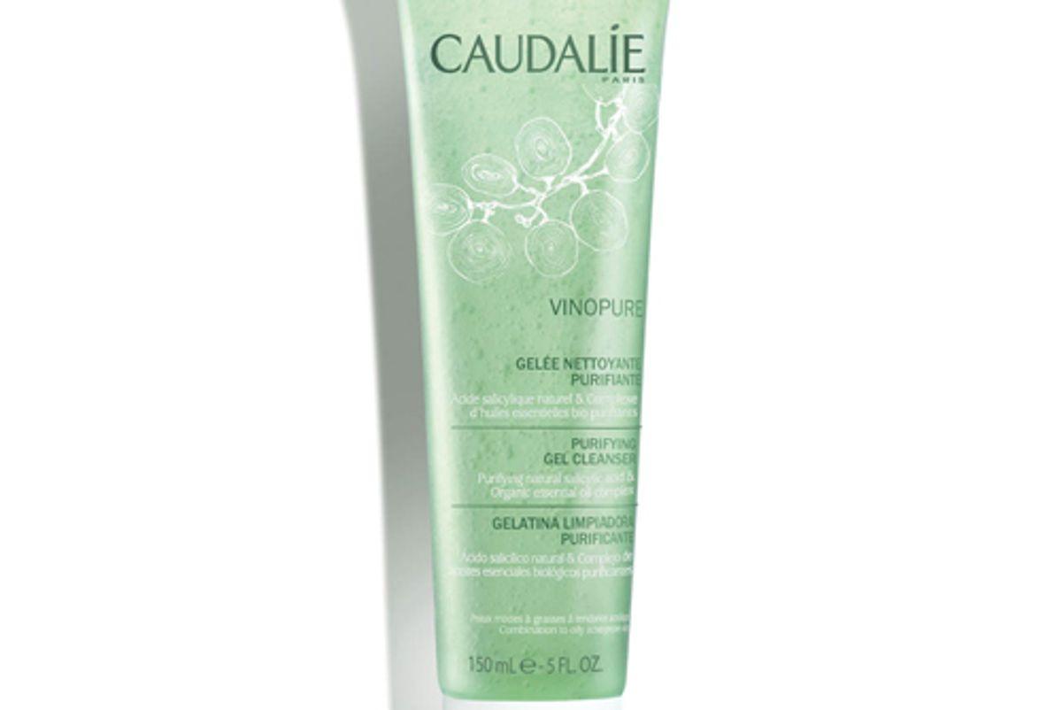 caudalie vinopure pore purifying gel cleanser