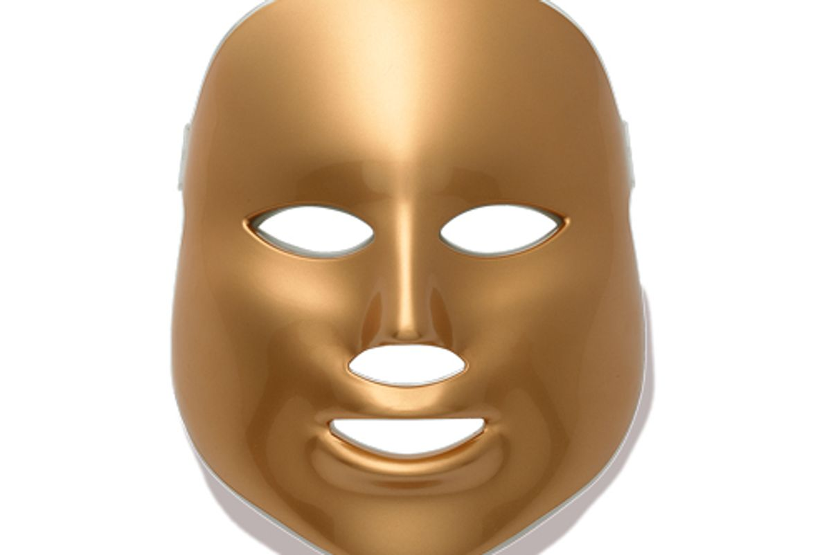 mz skin light thearapy golden facial treatment device