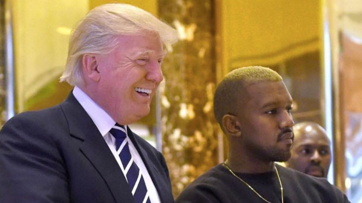 What Kanye West & Donald Trump Talked About This Morning