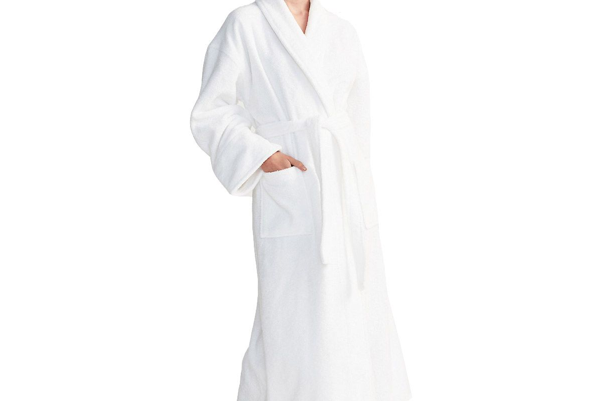 Cotton Classic Robe White