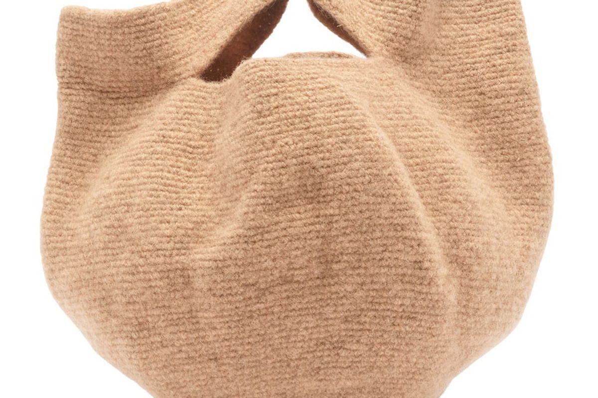 lauren manoogian baby bowl wool bag
