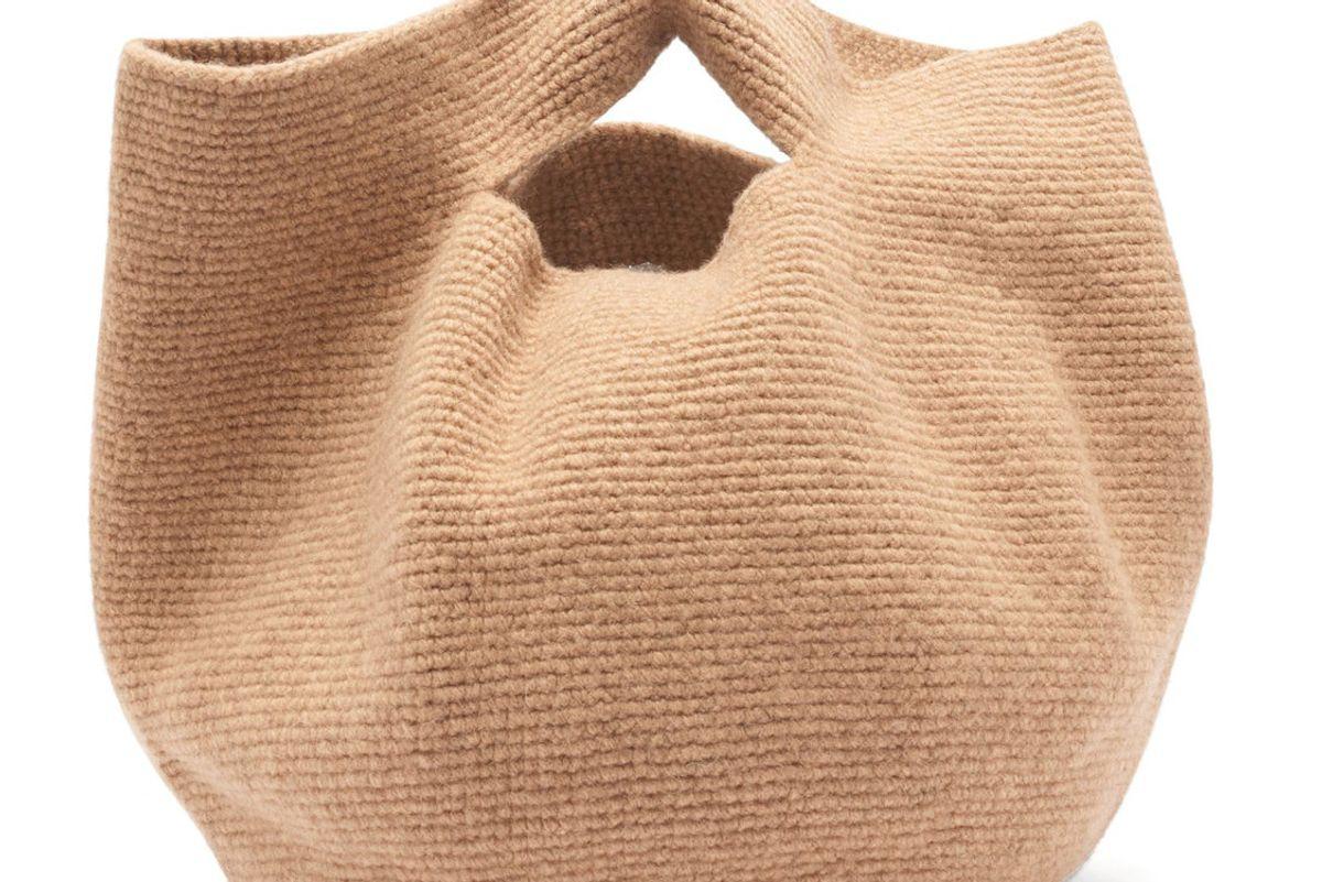 lauren manoogian bowl wool bag