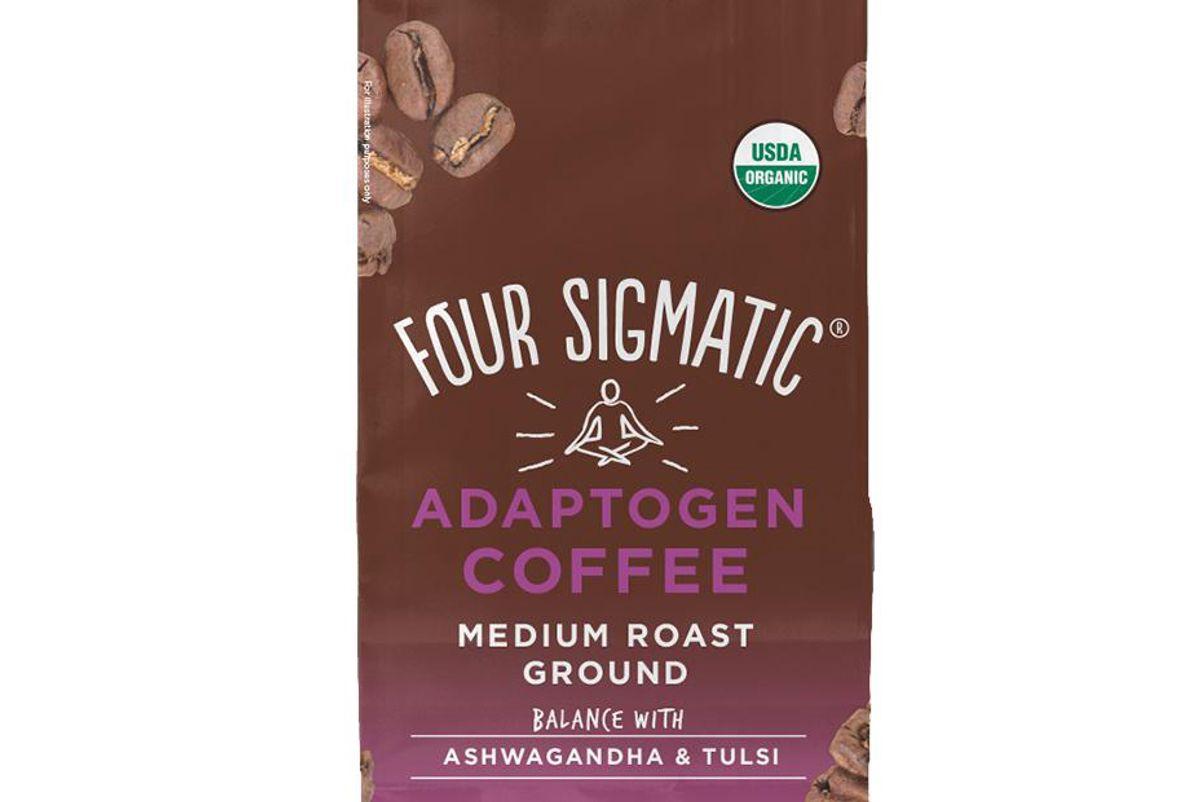 four sigmatic ground adaptogen coffee