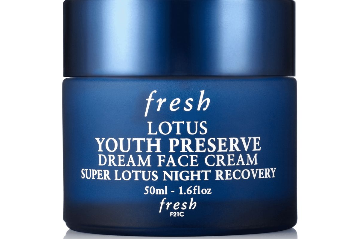 fresh lotus youth preserve dream night cream