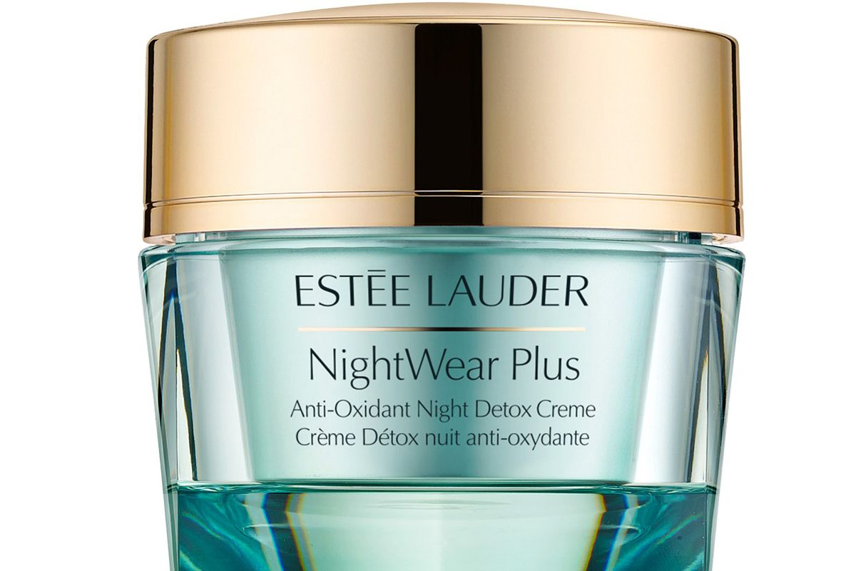 estee lauder nightwear plus anti oxidant night detox creme