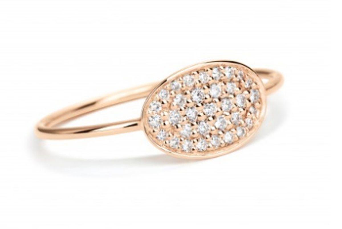 Mini Sequin Diamond Ring