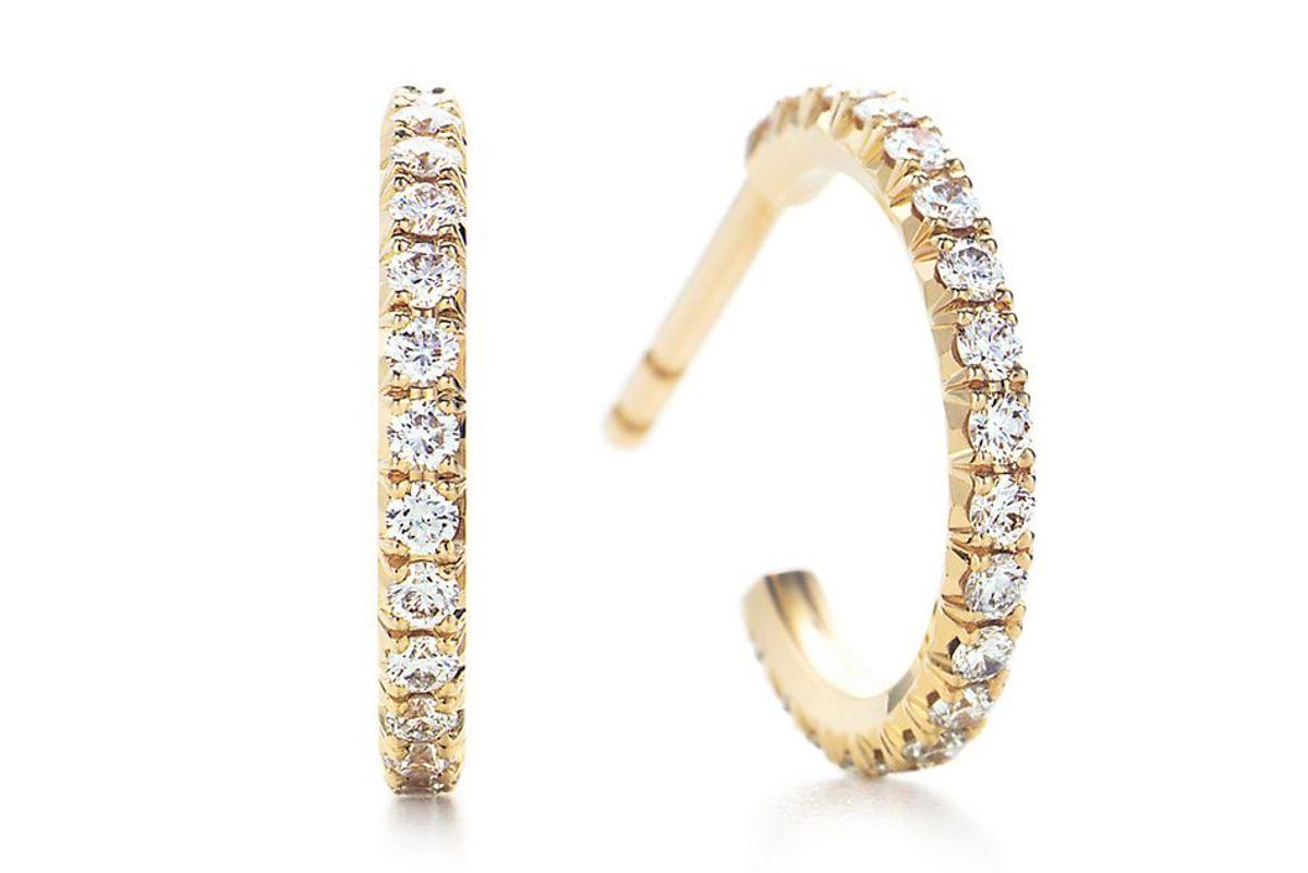 Tiffany Metro Hoop Earrings