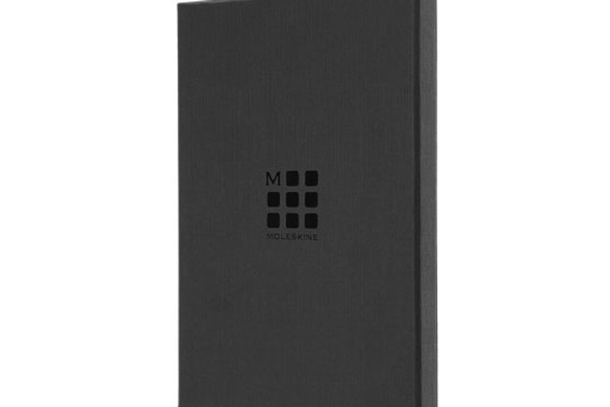 moleskine limited edition leather notebook