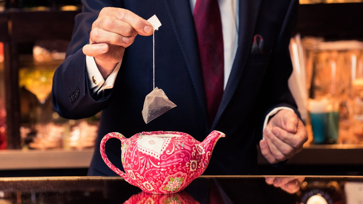tea bags contain microplastic particles