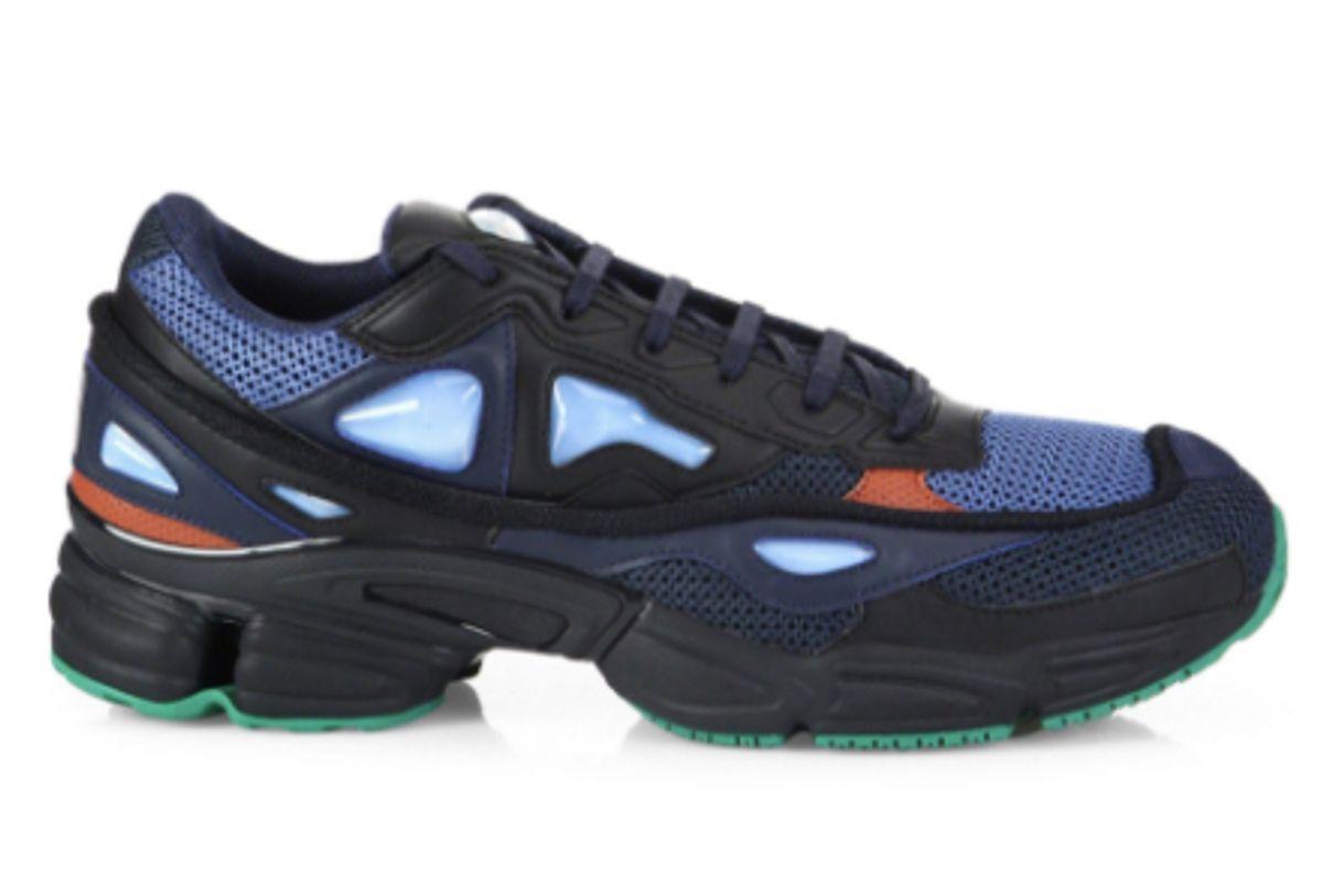 "By Raf Simons Men's Blue ""Ozweego 2"" Marine Sneakers"