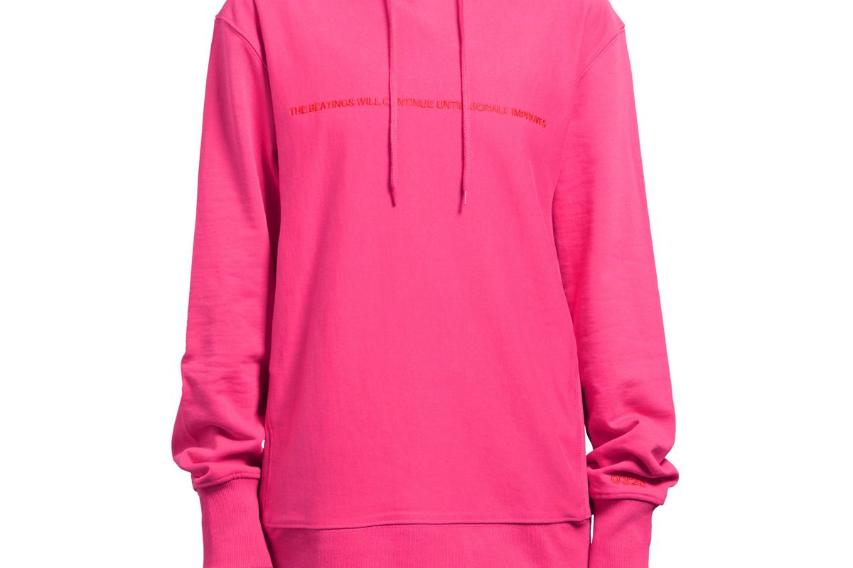 Pyrate Society Hoodie in Magenta