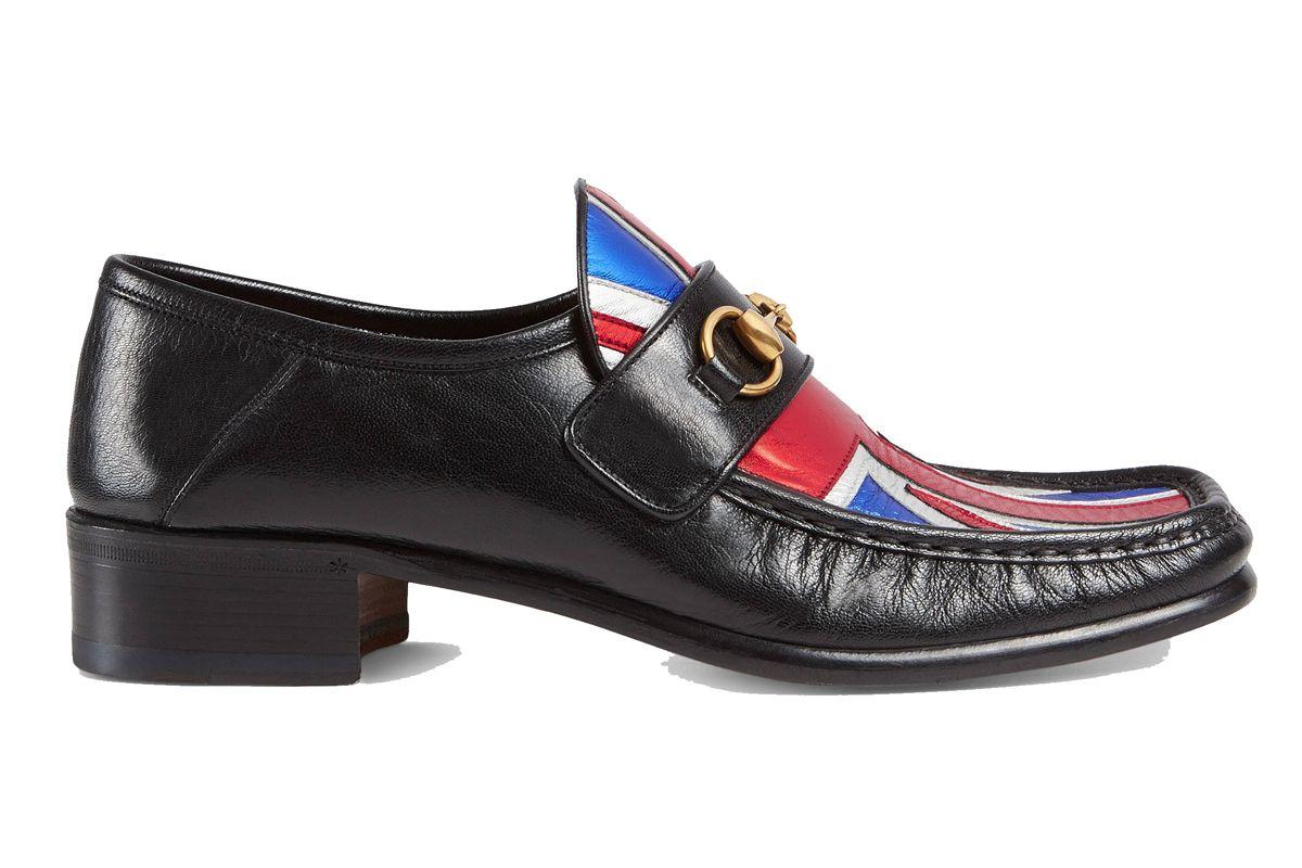 Union Jack Horsebit Leather Loafer