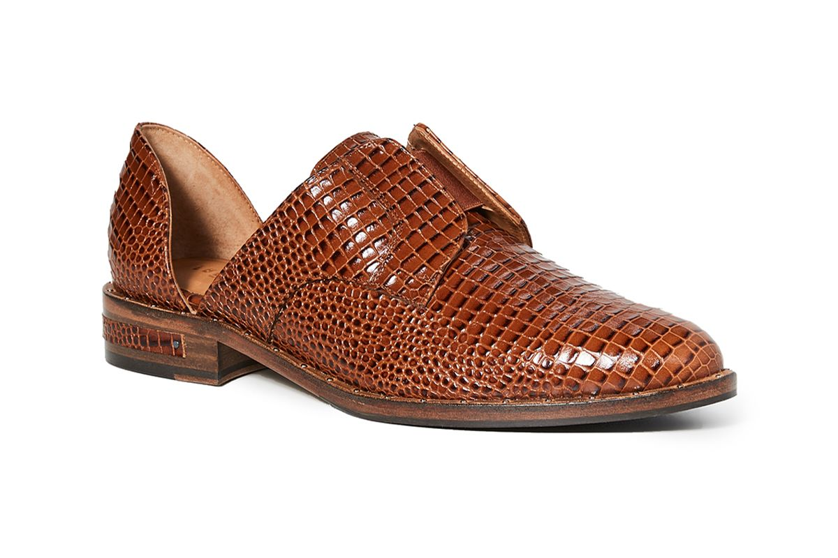 freda salvador laceless d orsay oxford shoes