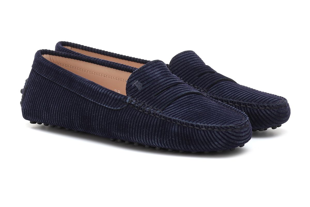 tods gommino corduroy loafers