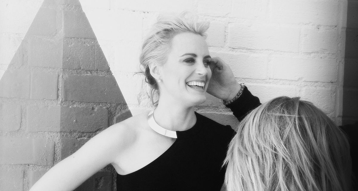 On Set with Taylor Schilling