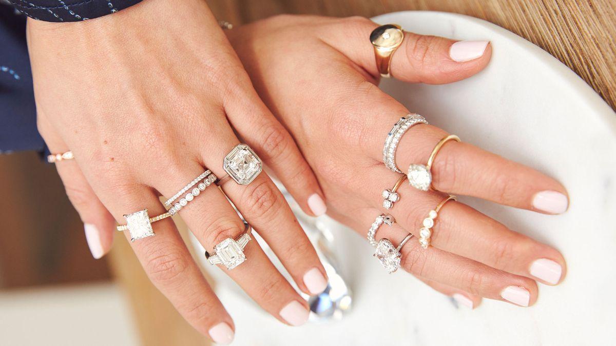 shop unique engagement rings