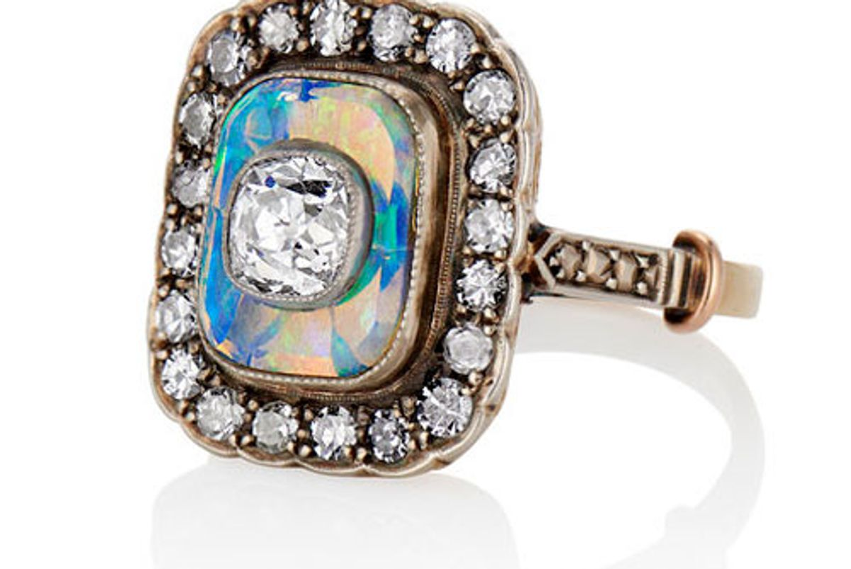 the one i love nyc the casablanca opal ring