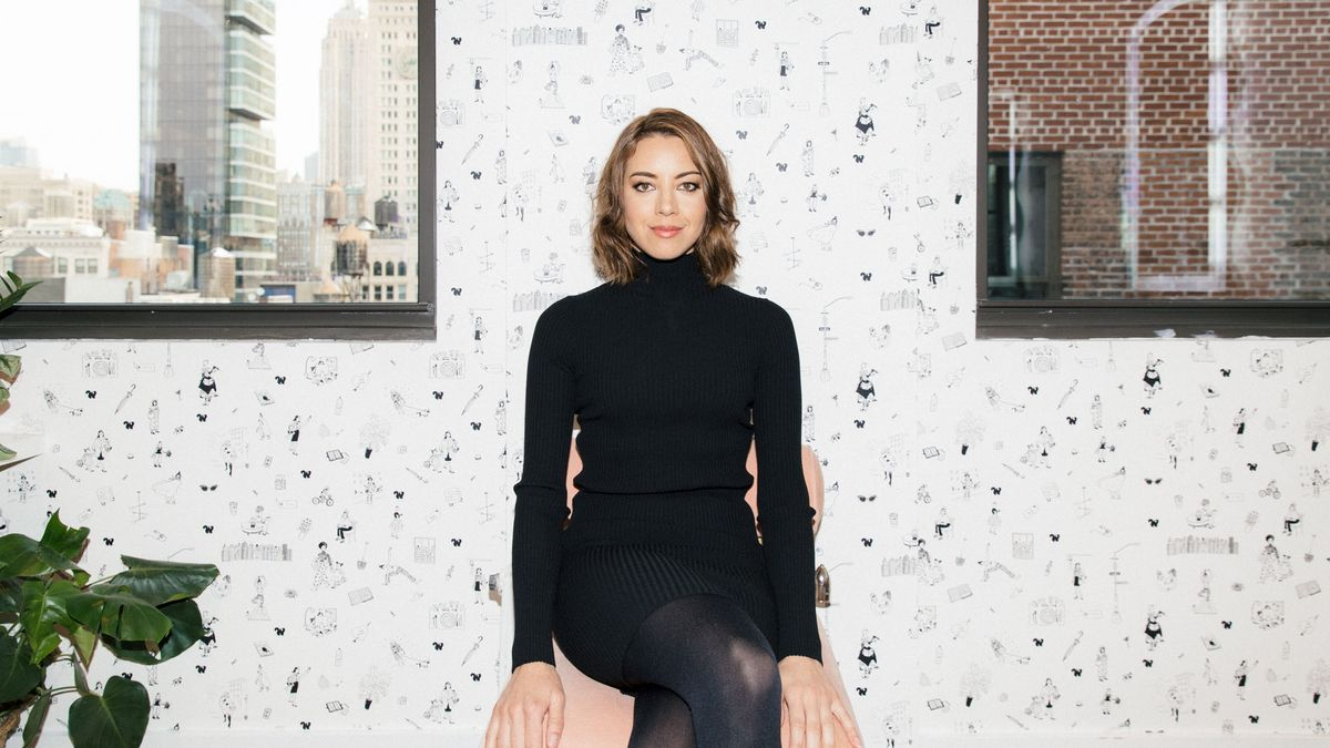 Aubrey Plaza's Skincare Tips For Girls Who Don't Even Care