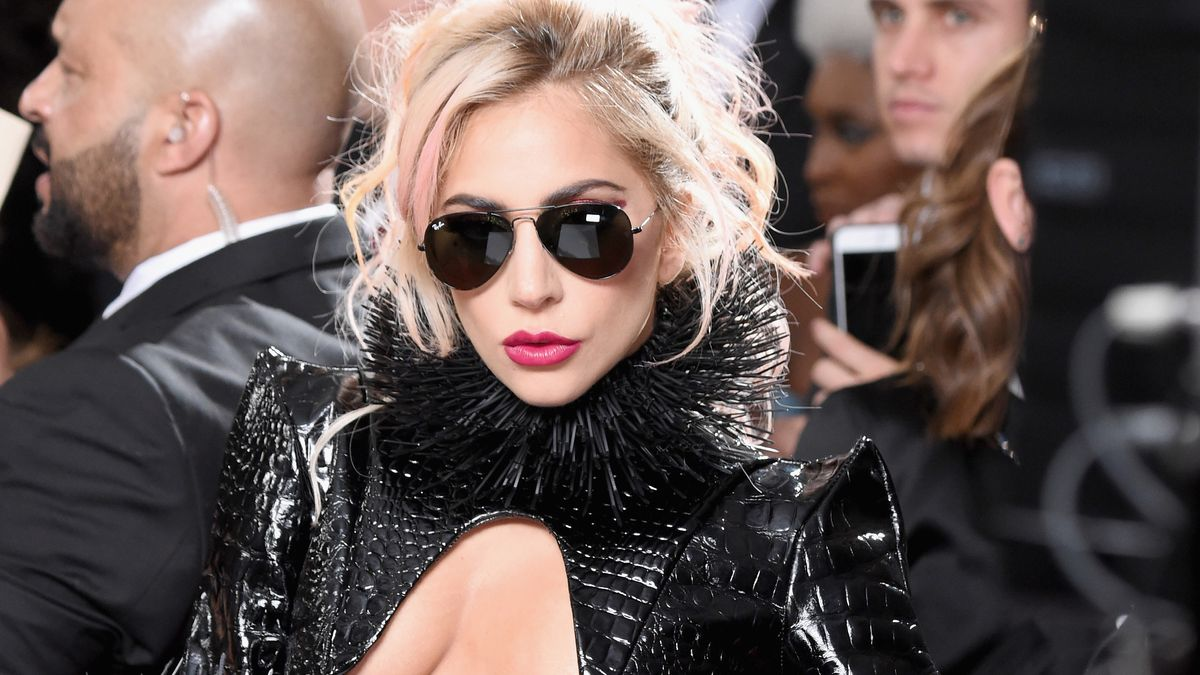 Lady Gaga Owned Her Naked Look at the Grammys Like Only Lady Gaga Could