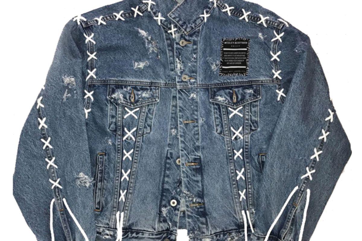 Oversized Unisex Denim Jacket