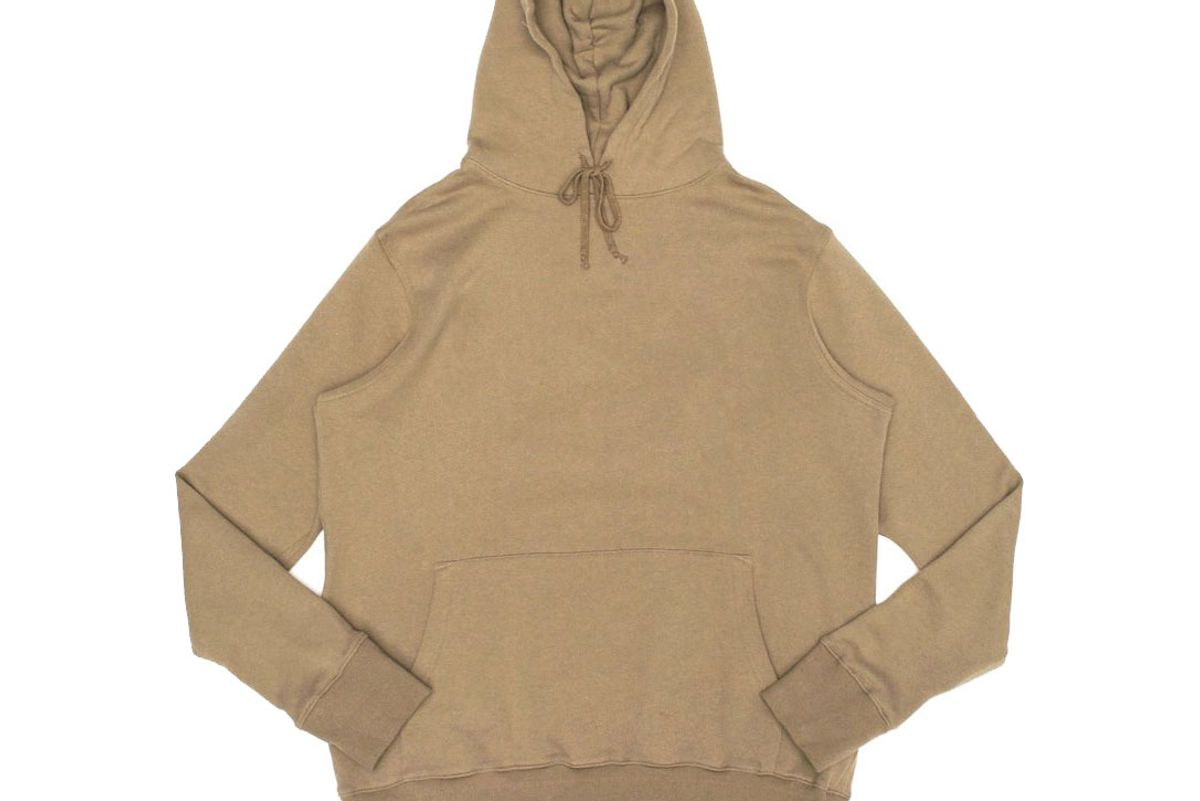 Essential Pullover Hoodie in Camel
