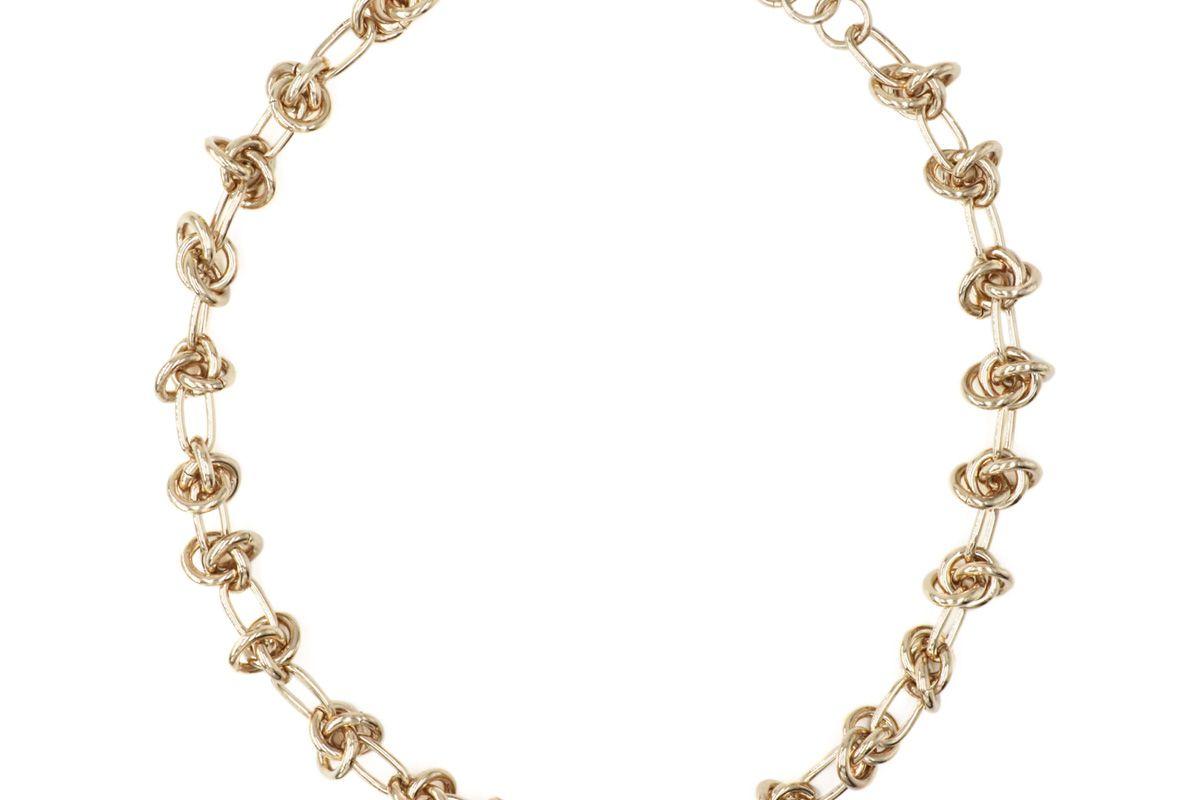 justine clenquet daria gold choker