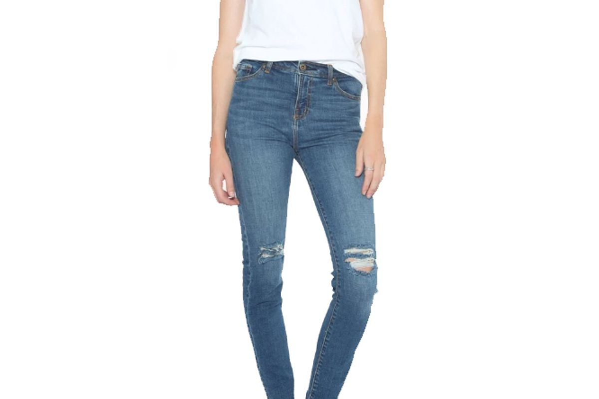 outland lucy high rise relaxed skinny jeans