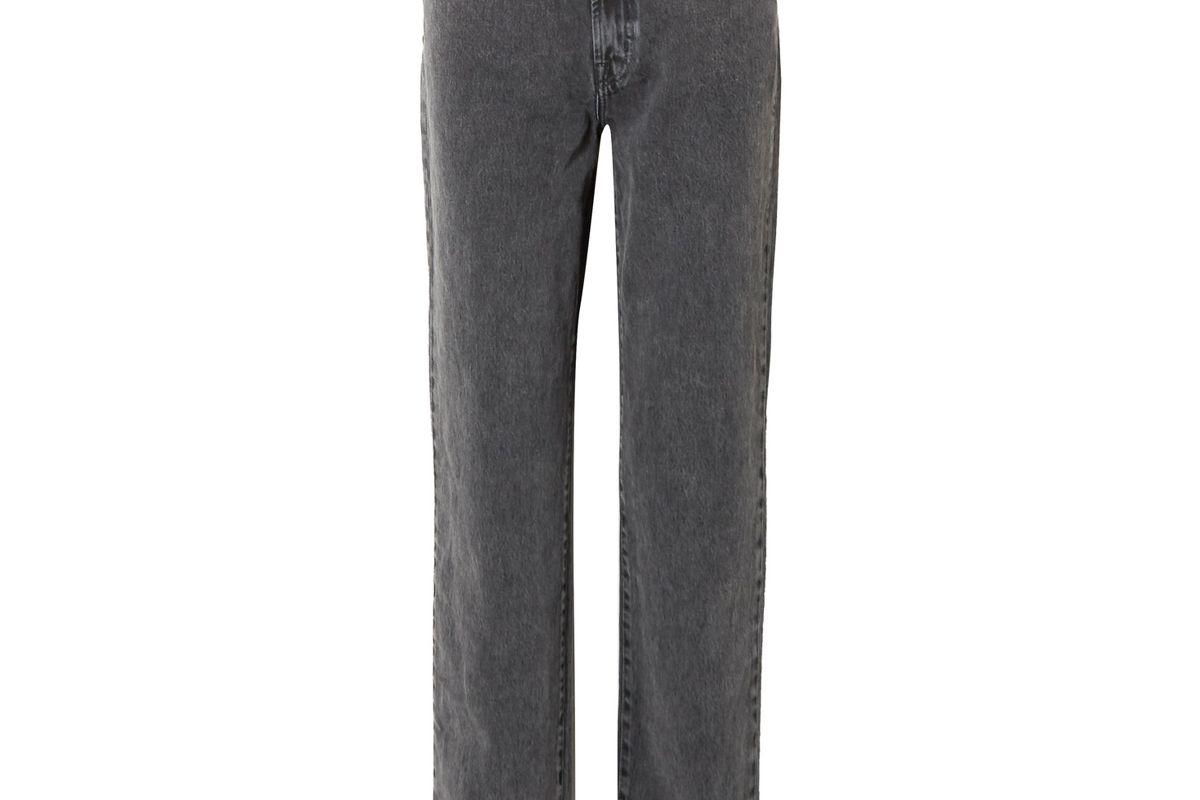 j brand x elsa hosk sunday mid rise straight leg jeans
