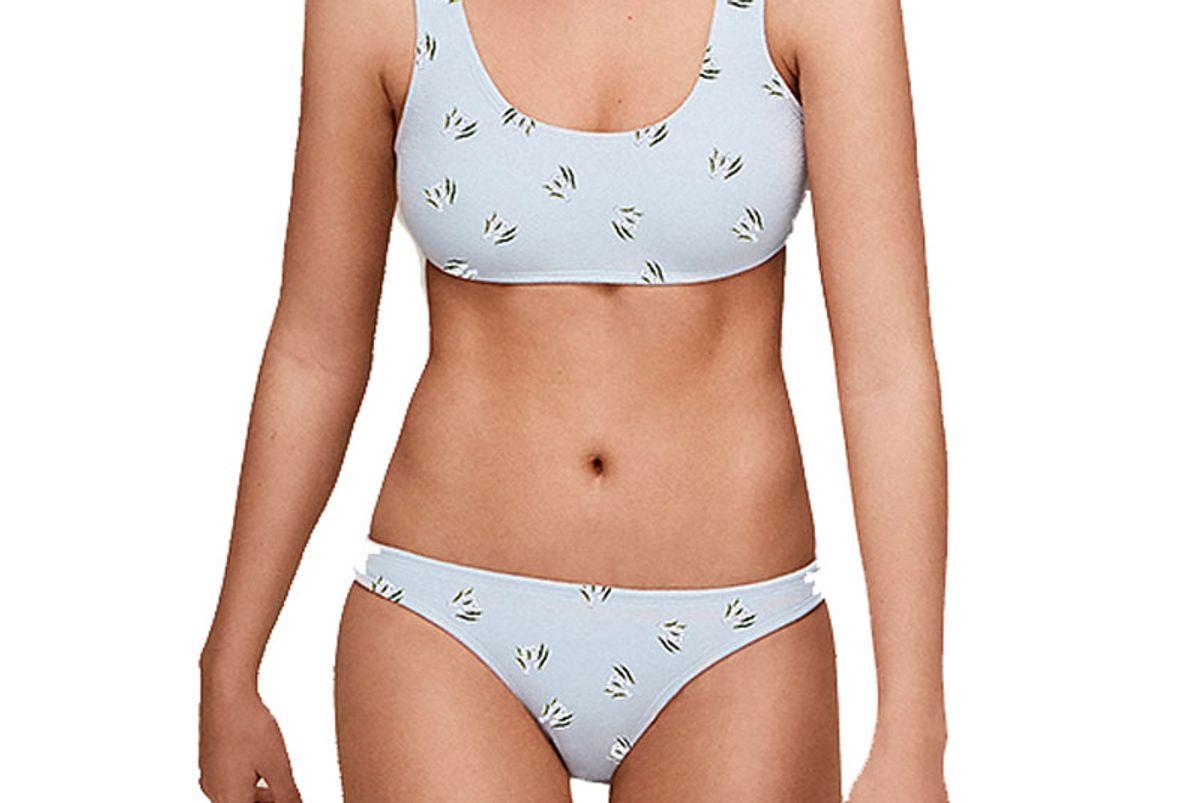 Bianca Two-Piece Cotton Puff Bikini