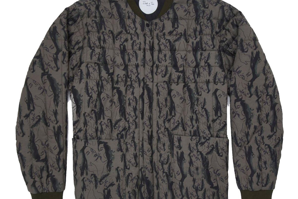 Hurst Printed Bomber Jacket
