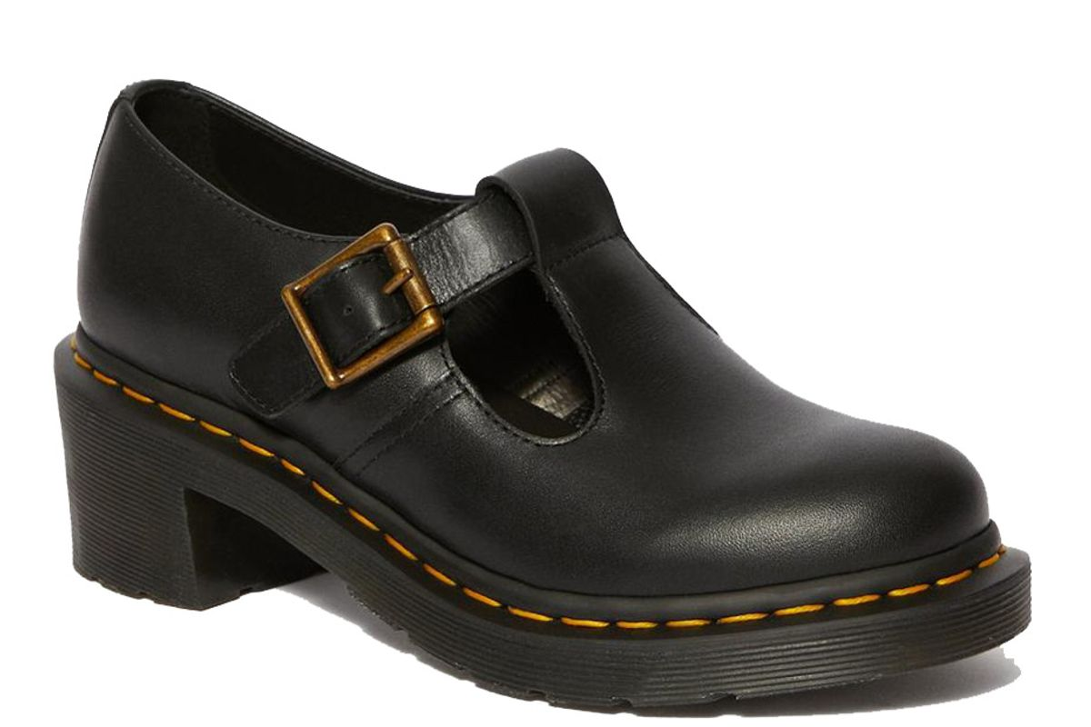 dr martens sophia womens leather heeled marry jane shoes