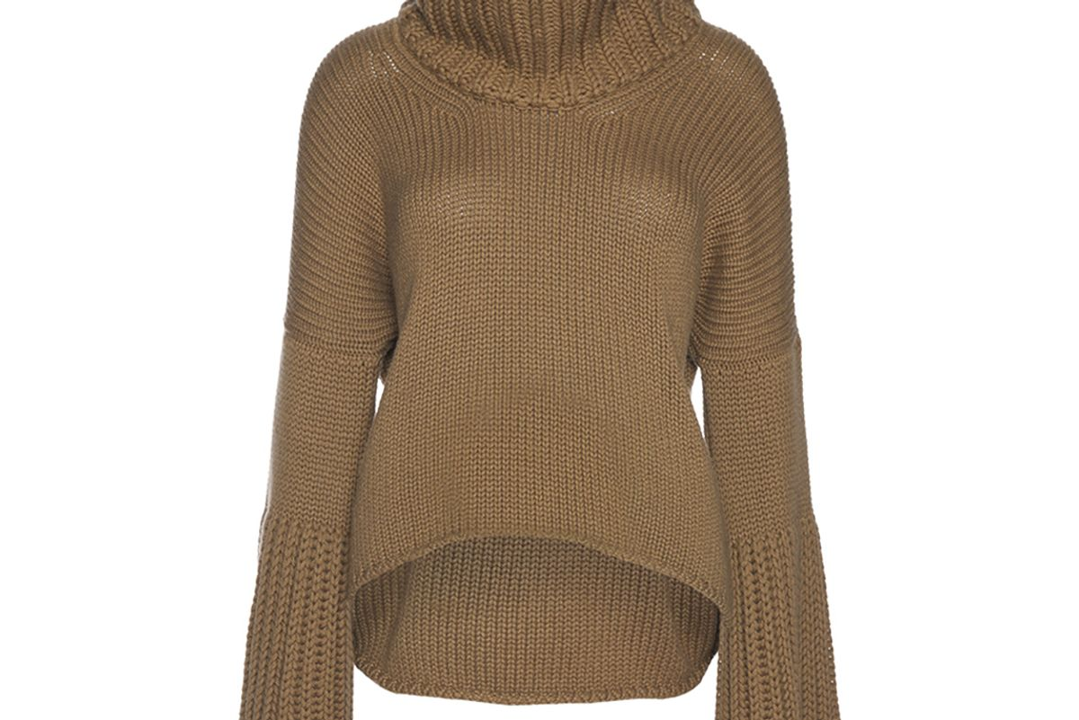 The Courchevel Cashmere Turtle Neck Sweater