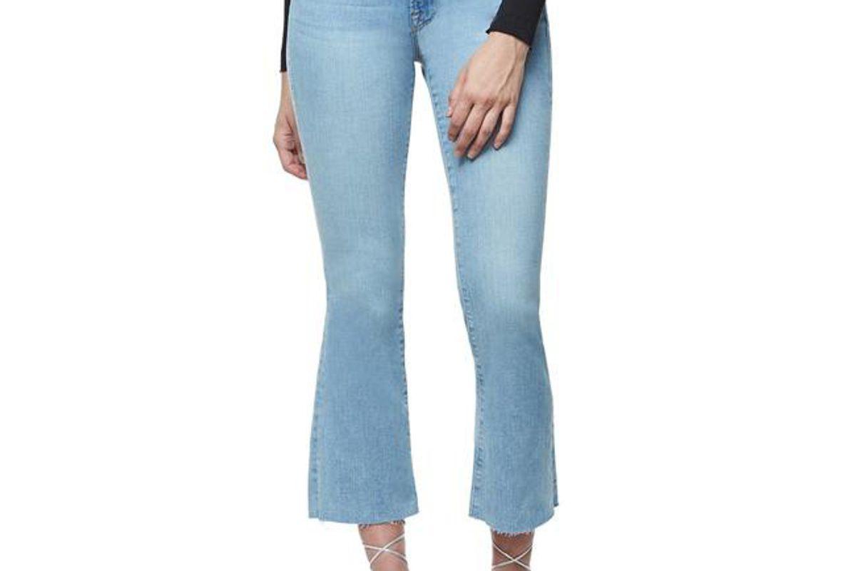 Good Boot Crop Raw Edge Jeans