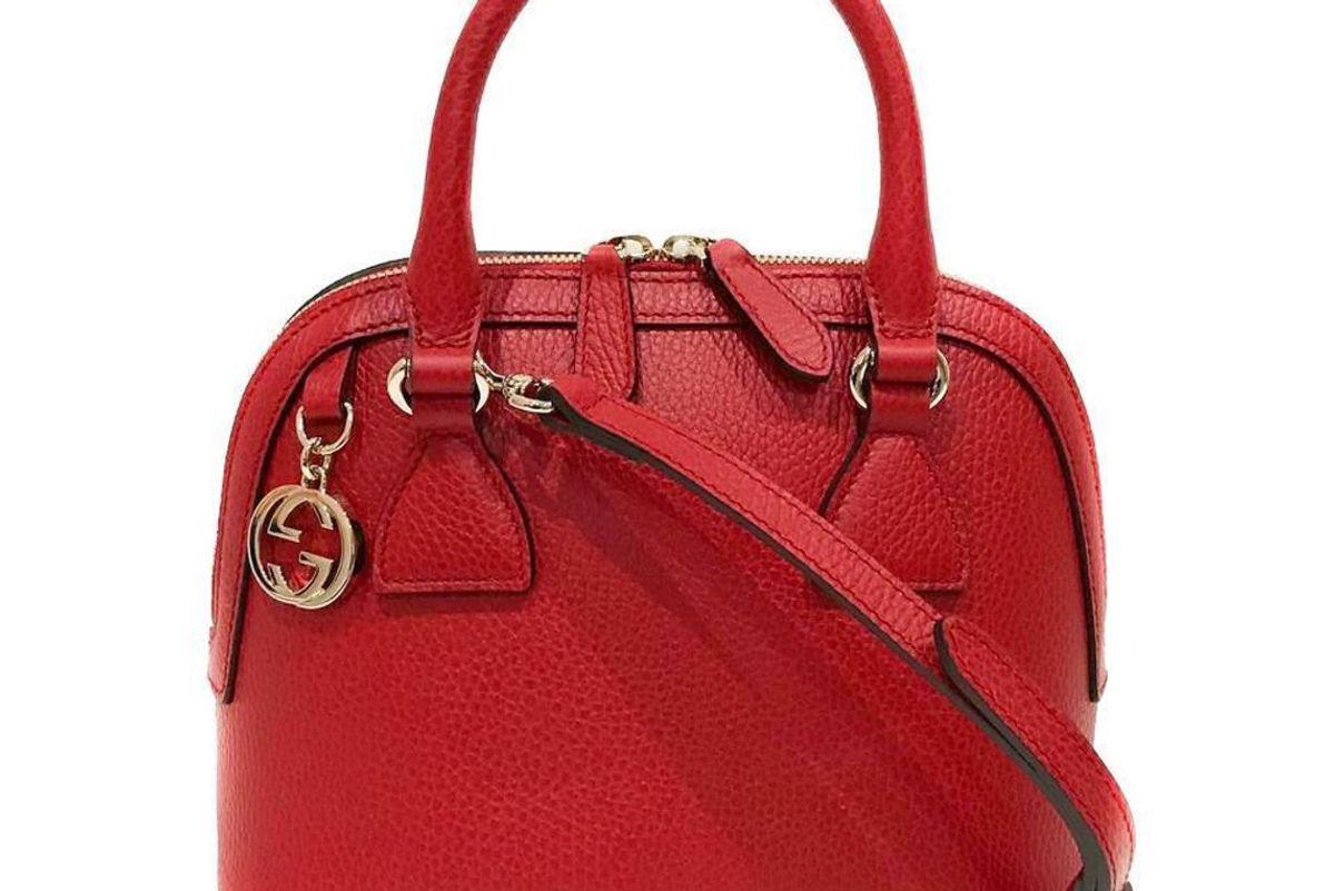 gucci dome crossbody gg charm medium bag
