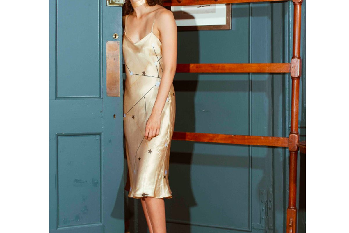 cinta the label taurus slip dress